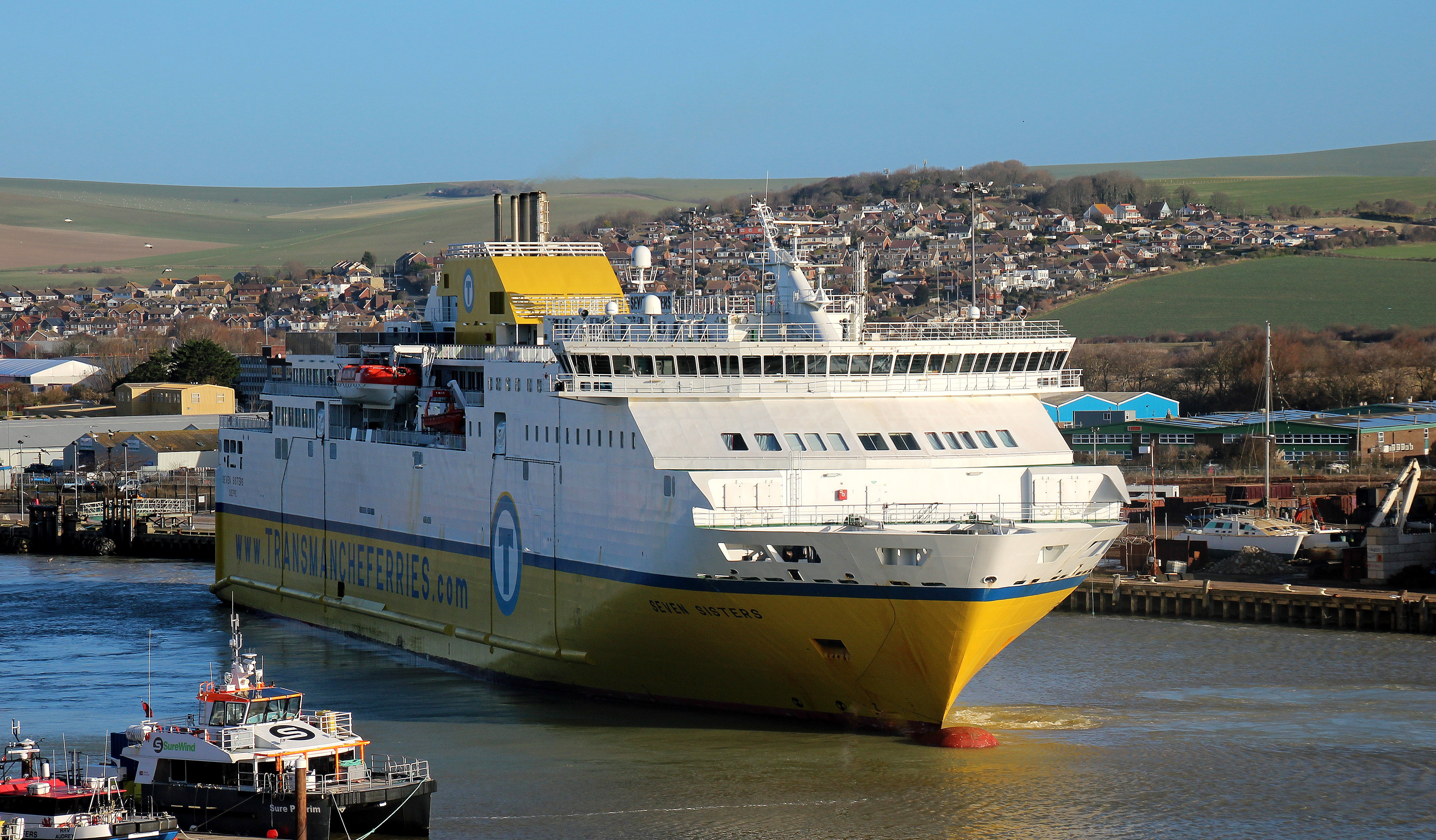 DFDS Transmanche - Seven Sisters Newhaven