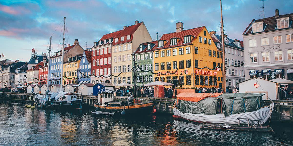 Jul i Nyhavn - København