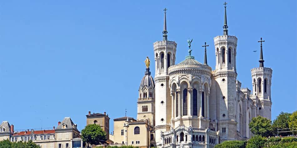 Lyon - Basilica of Notre-Dame de Fourvière