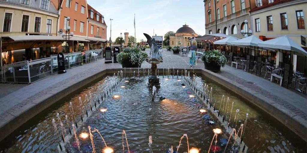 Karlskrona - fountain