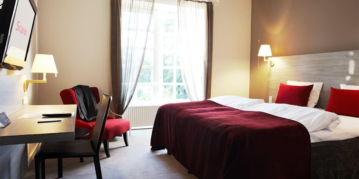 Scandic Bygholm Park Interior stndard double room