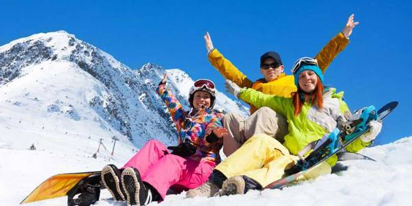 Skiing in Sweden