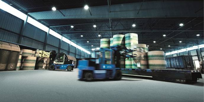 DFDS Logistics warehouse