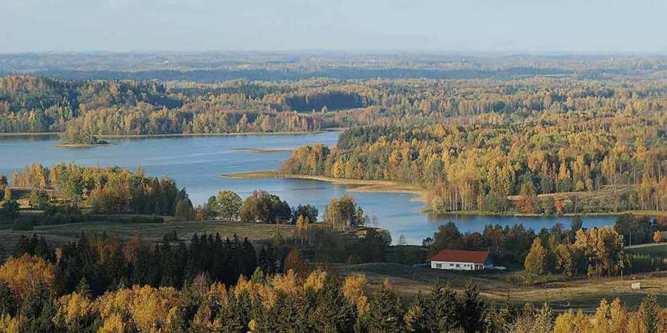 Lakes in the Baltics