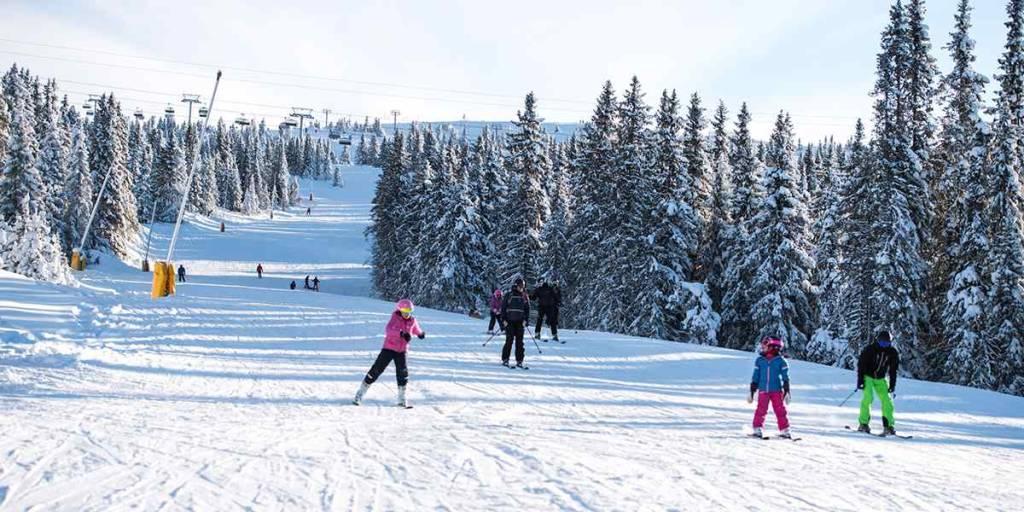 Hafjell - ski slopes