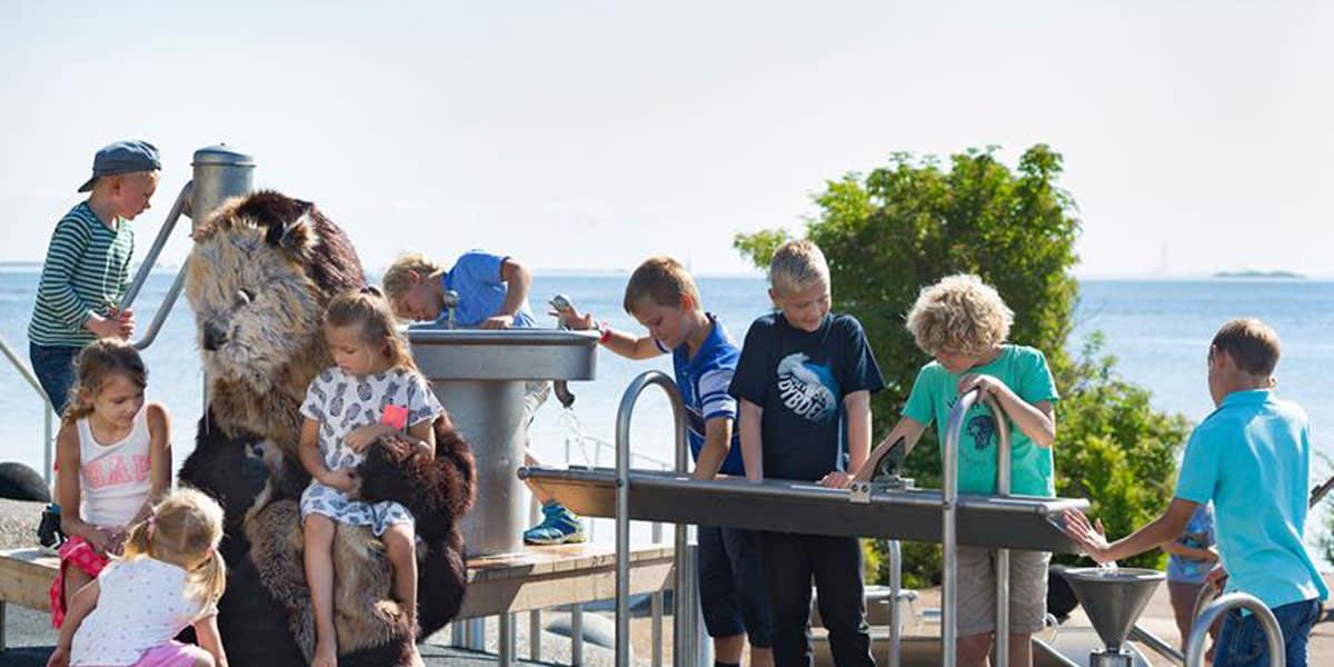 vannlekeplass - Den Blå Planet