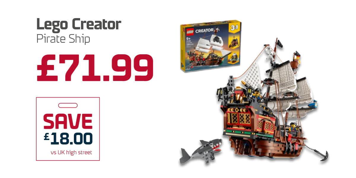 EC Duty Free Q3 - Lego Creator