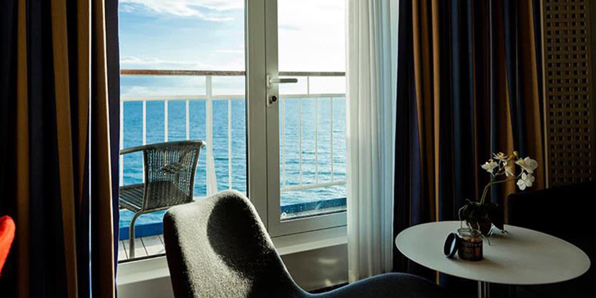 Commodore cabin with Seaview Copenhagen-Oslo