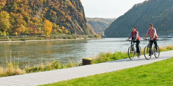 The Moselle and Rhine Valleys - cycling