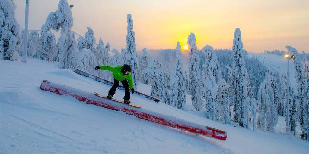 Skiing in Scandinavia, Finland - Tahko