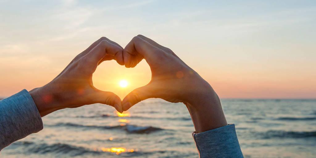 Vi elsker solnedganger