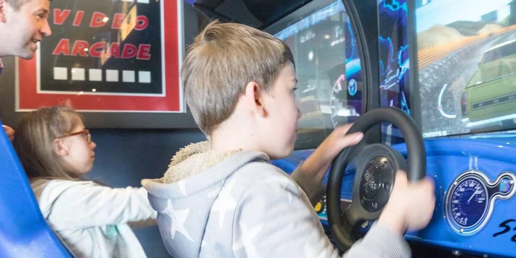 Kids arcade Dover-France