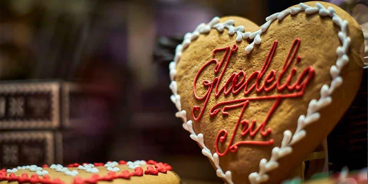 Copenhagen Christmas market - cookie
