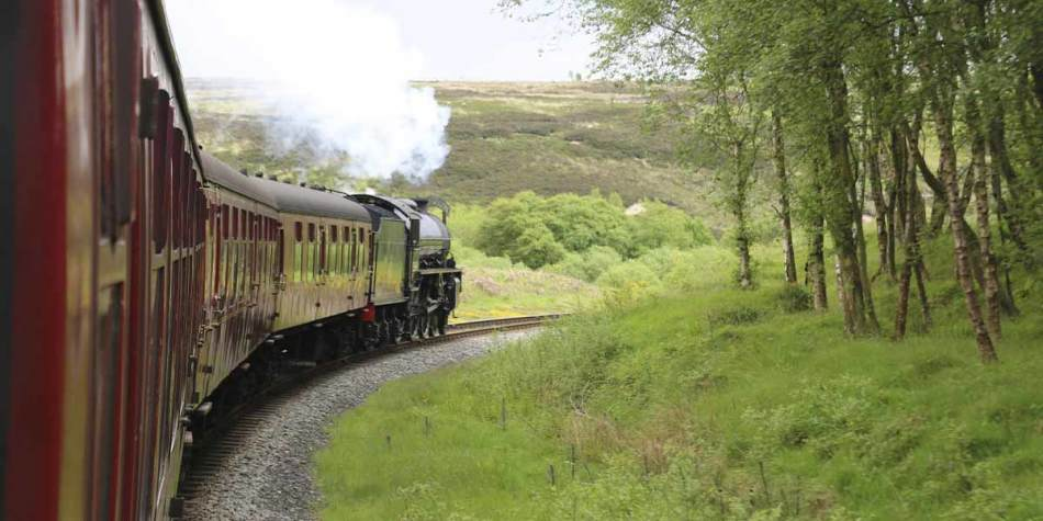 North York Moors Railway line