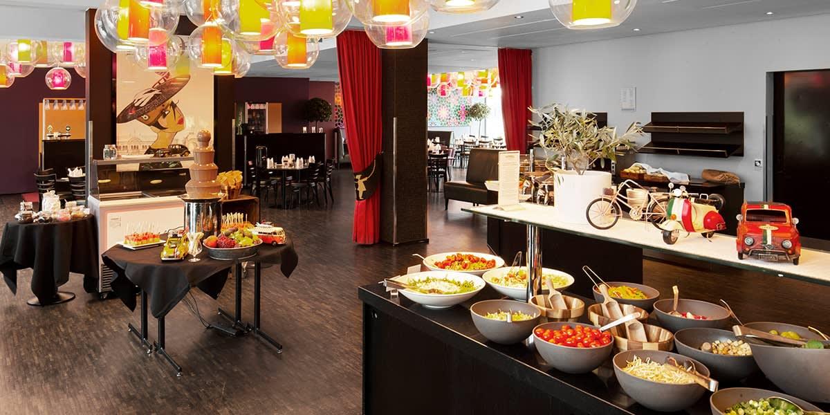 Tivoli Hotel - breakfastbuffet in brasserie