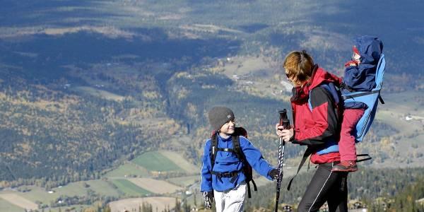 Hiking - Kvitfjell - Norway - Photocredit - Kvitfjell alpinanlegg