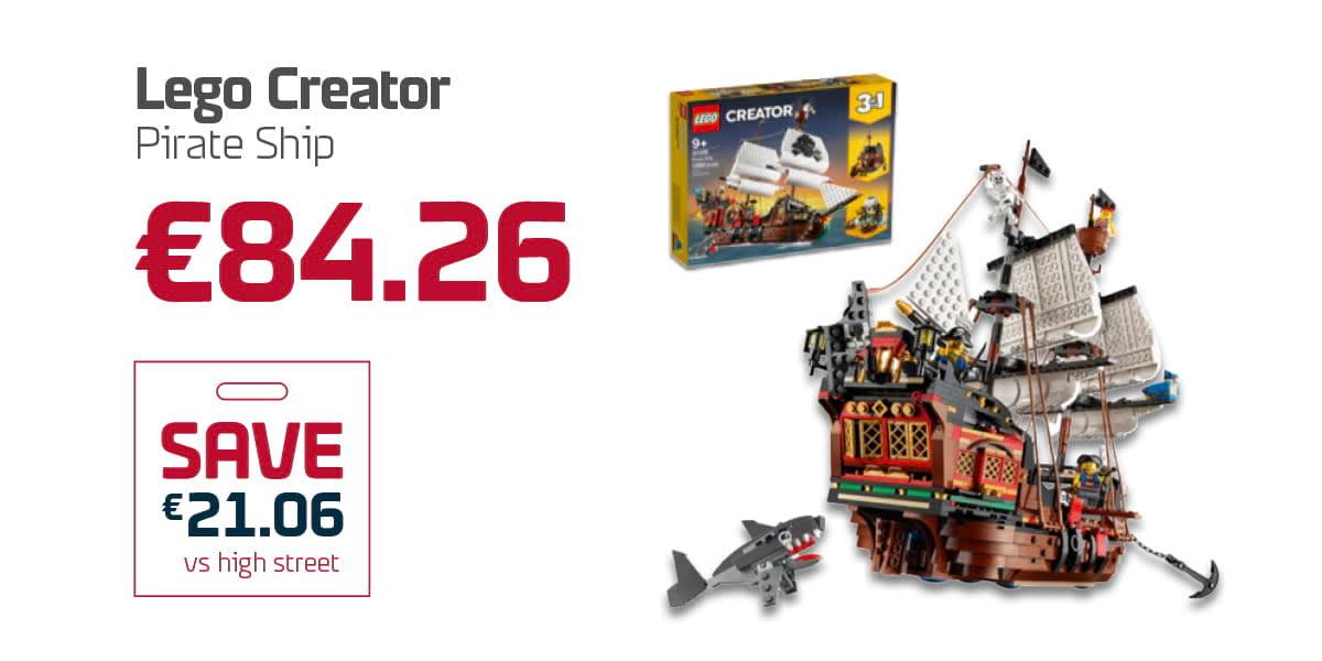 Duty Free AN Q3 - Lego Creator