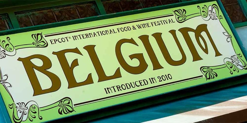 Food and wine festival in Belgium