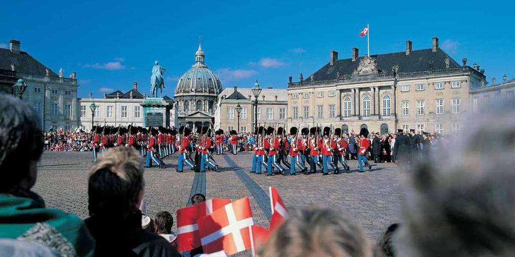 Amalienborg i København