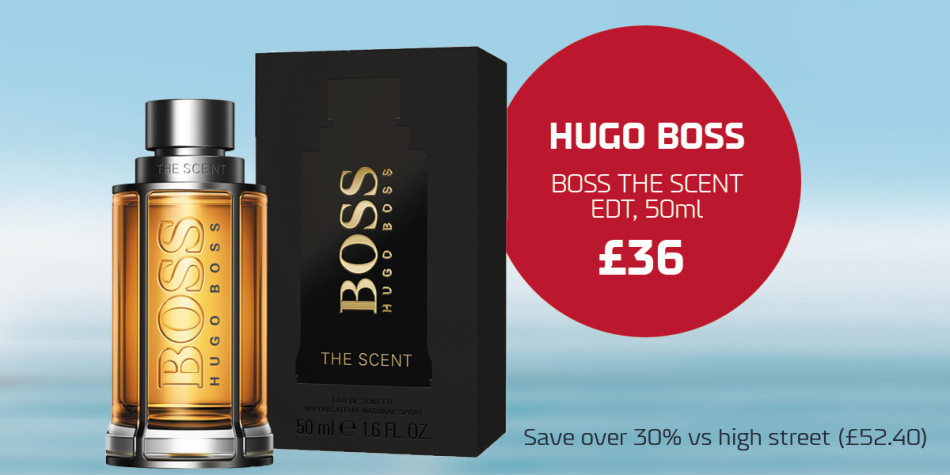 Q3 Shop offers Dover-Dunkirk and Calais Hugo Boss