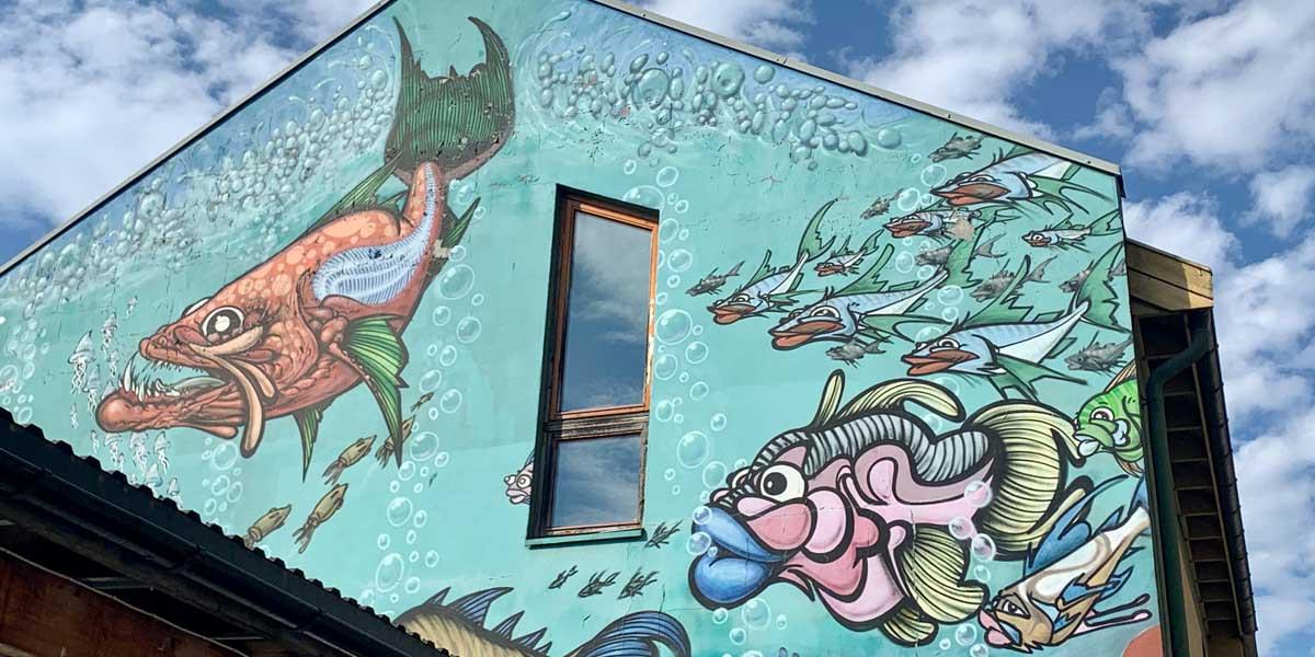 Oslo - wall art - Photo by Anette Brattberg