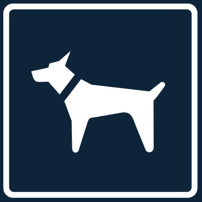 'Animal in a Car' Sign