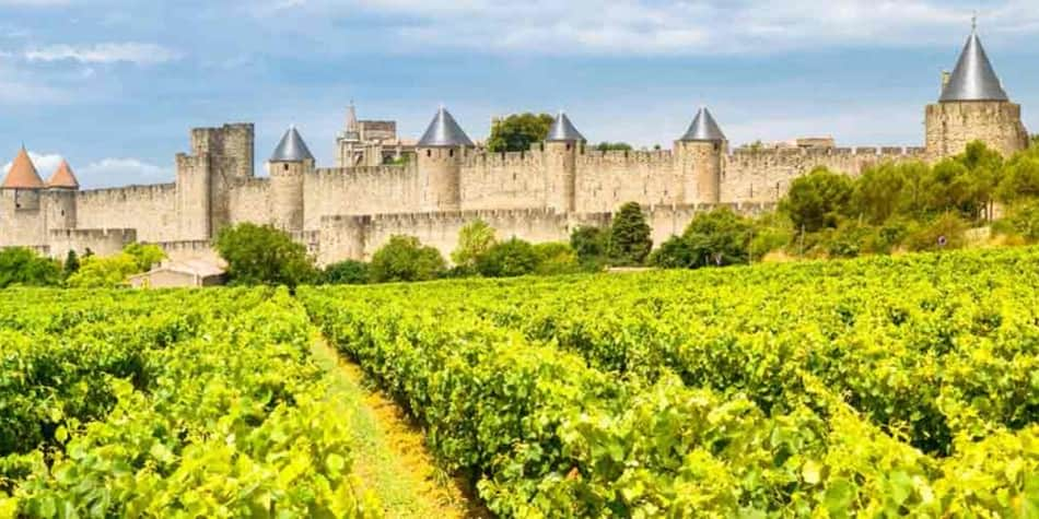 Wine regions in France - Languedoc Rousillon