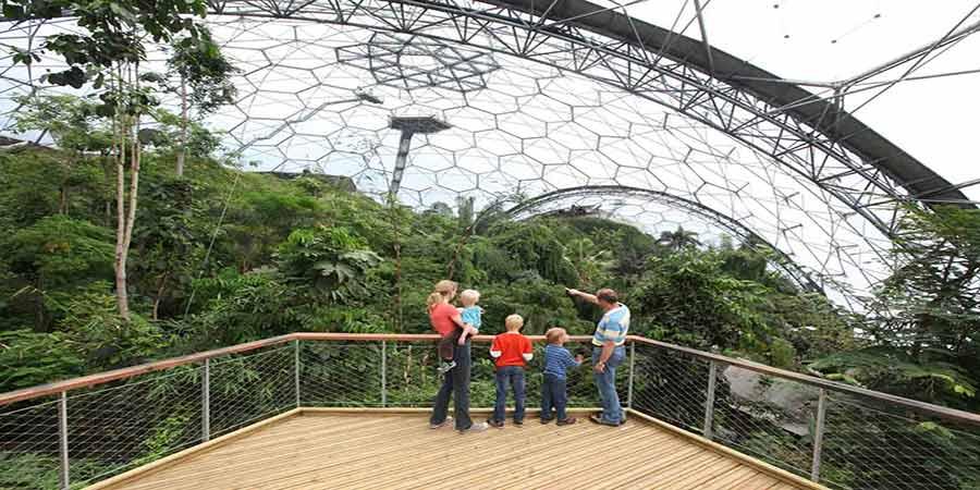 Eden Project Gärten