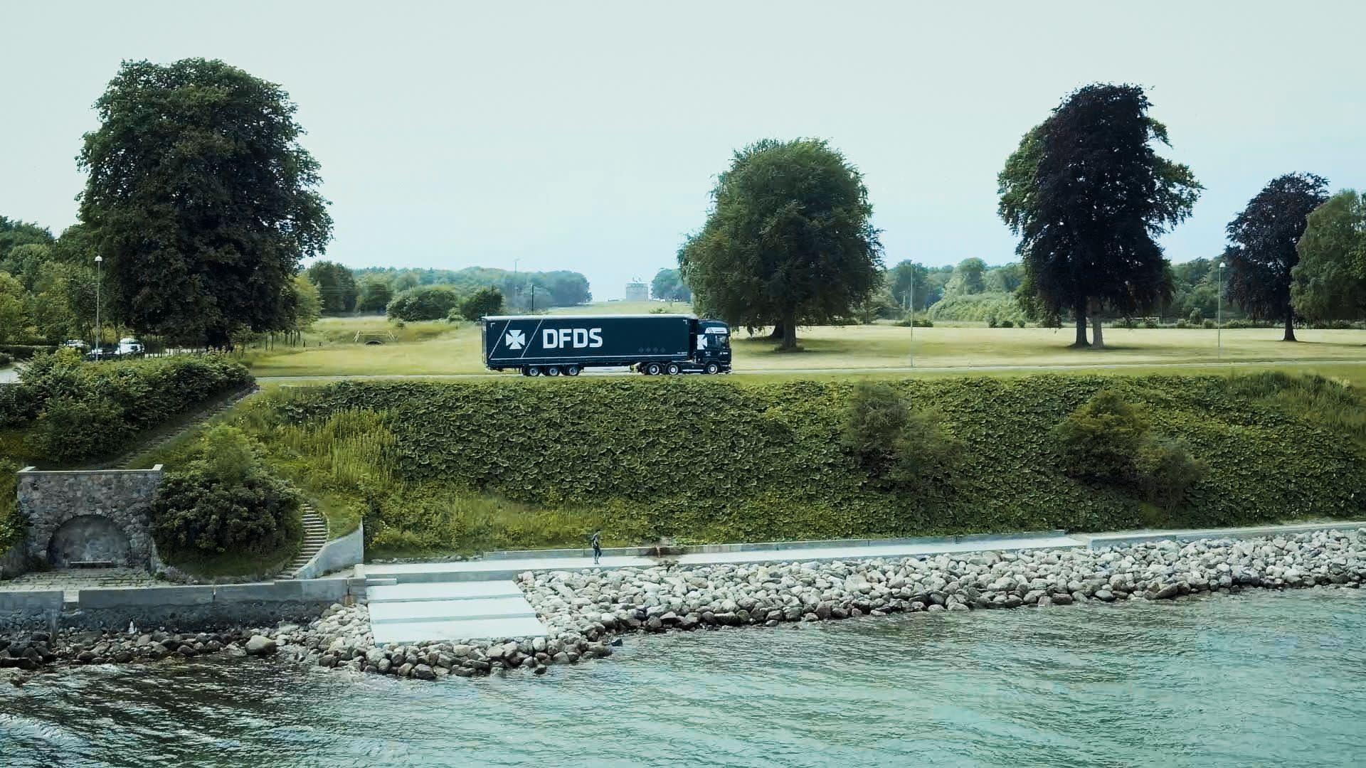 DFDS logistics Norway