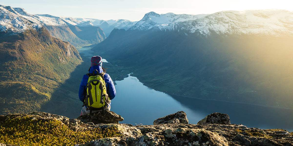 Norge - Hiking fraLoen-skylift - Photocredit Bård Basberg