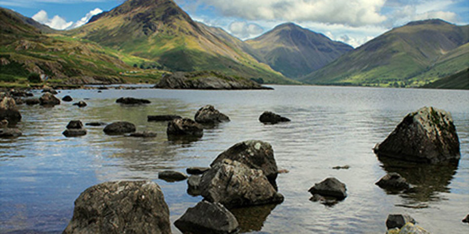 Visit the Lake district in England