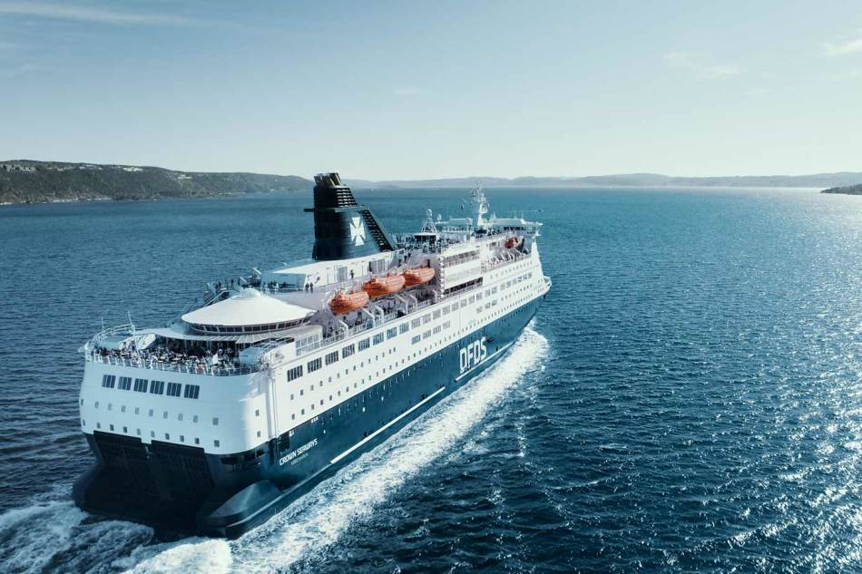 Crown Seaways in the Oslofjord