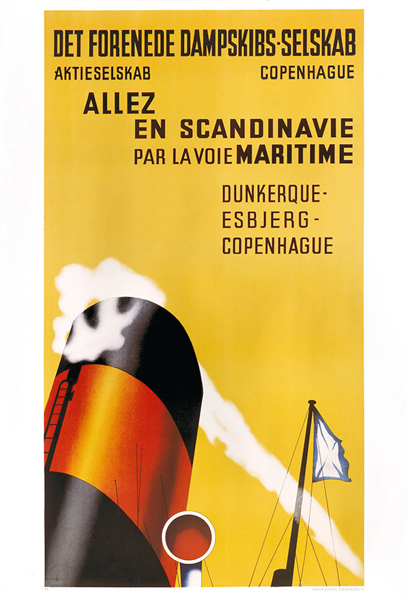 Poster tradition, Allez en Scandinavie