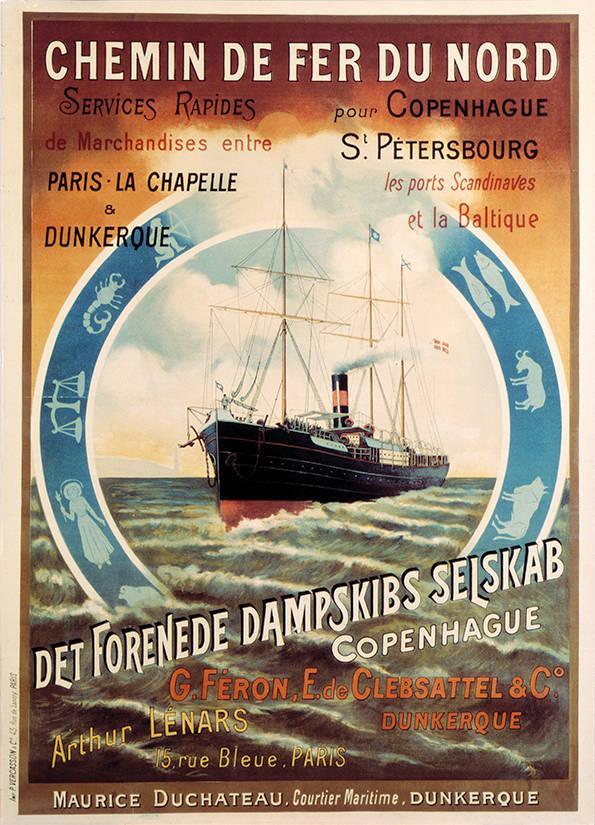 017 Poster tradition, Chemin de fer du Nord