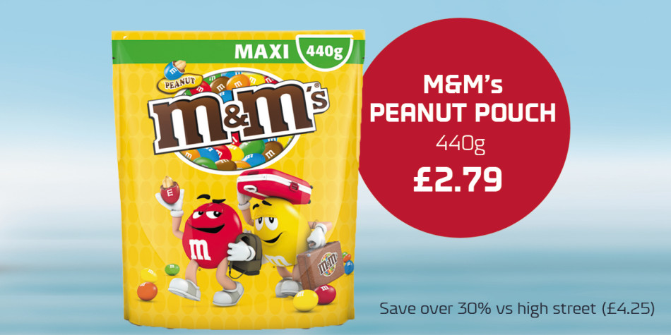 Q3 Shop offers Dover-Dunkirk and Calais M&Ms
