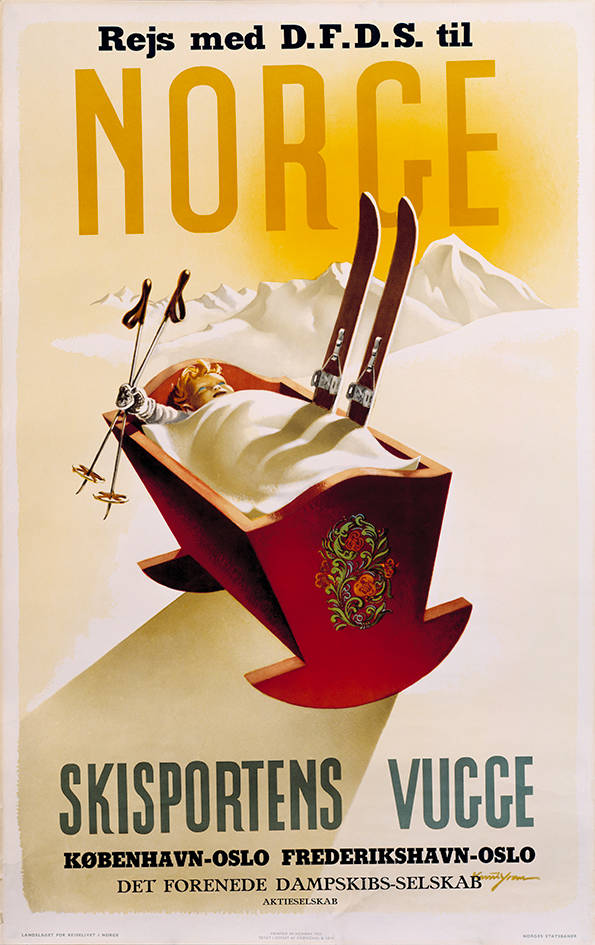 006 Poster tradition, Rejs med DFDS til Norge