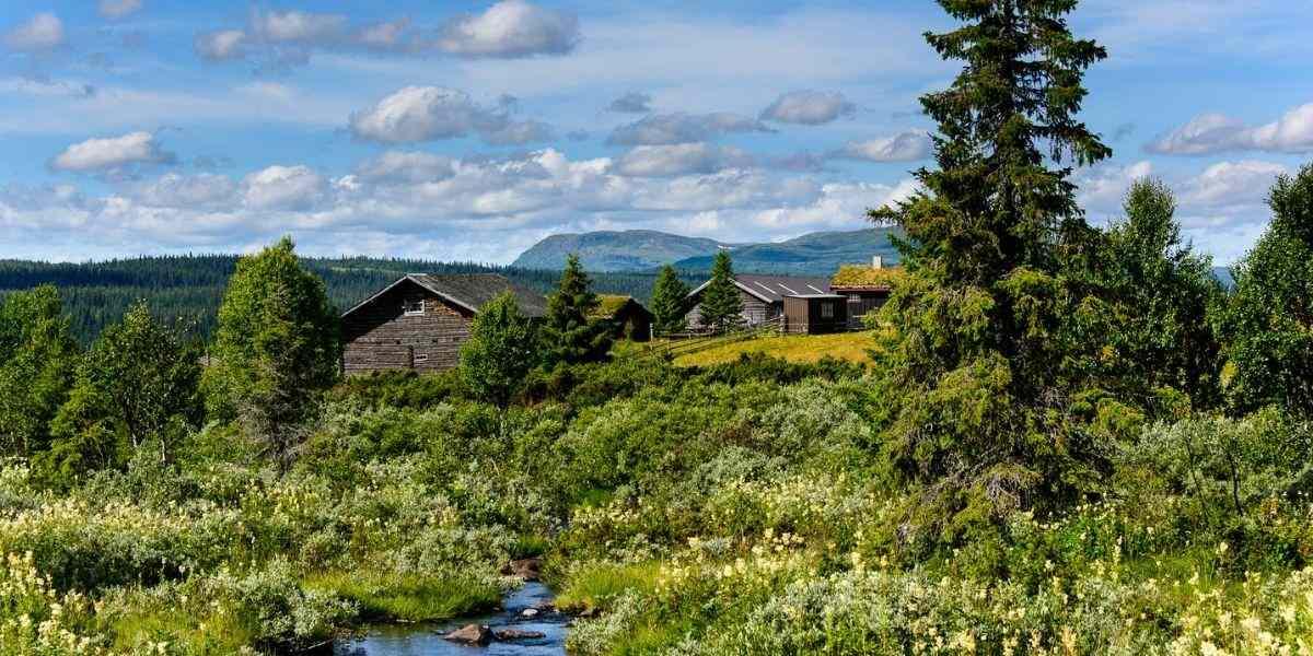 Kittilbu in Norway -  VisitLillehammer photocredit: Ian Brodie