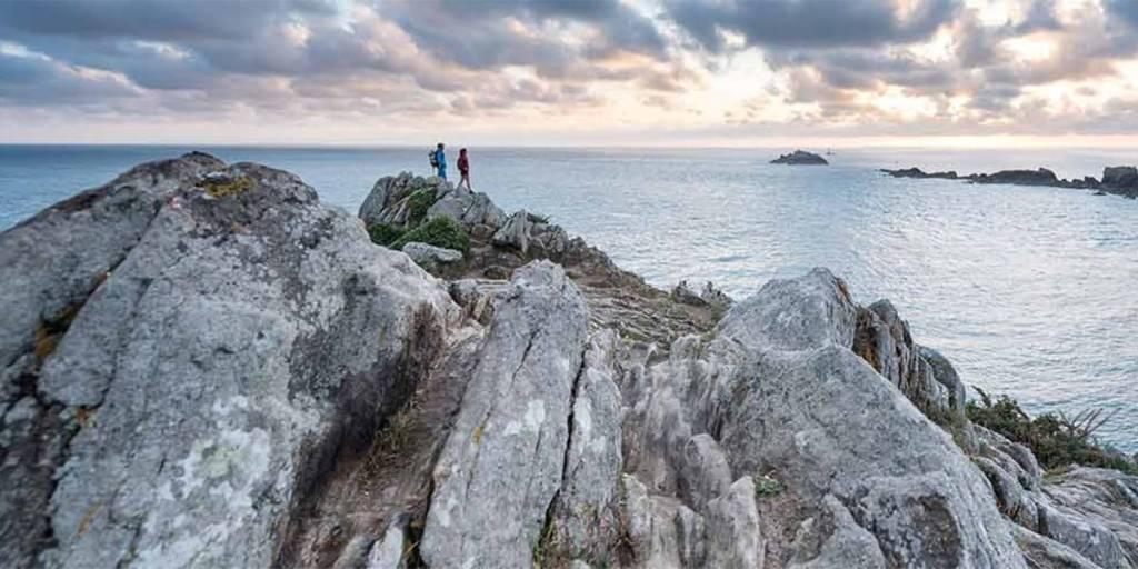 La Pointe du Grouin island in Brittany