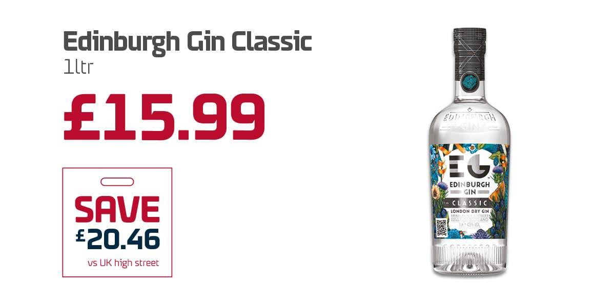 EC Duty free Q3 - Edinburgh Gin Classic
