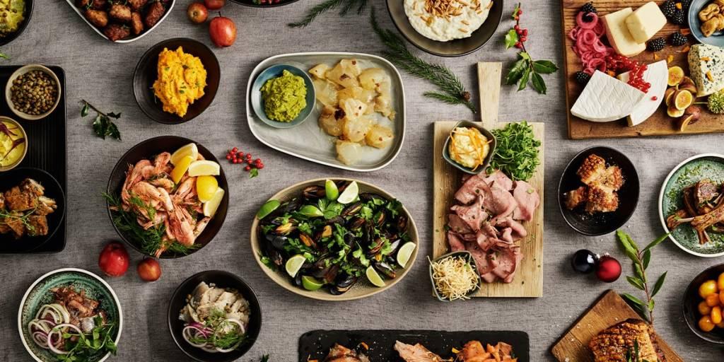 Julemiddag buffet