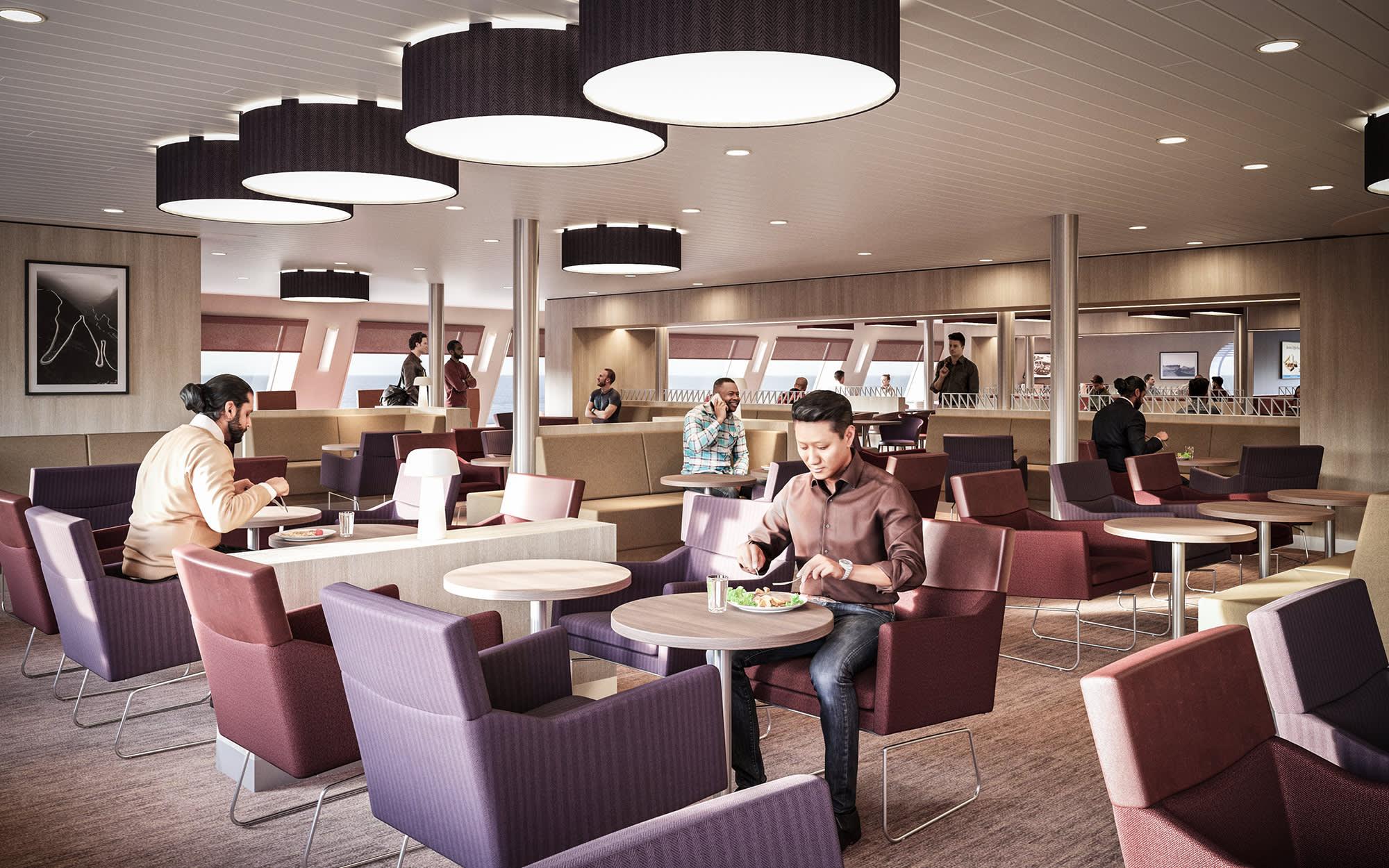 RÅformat Figura DFDS0268 Deck 7 Road Kings Lounge