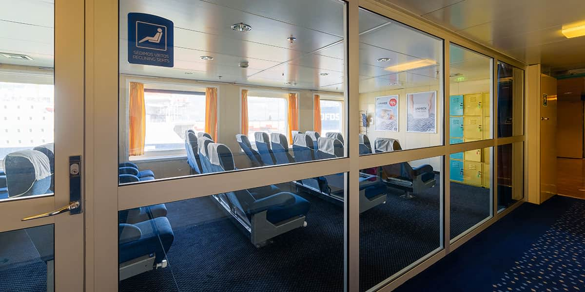 Reclining seat lounge - Patria