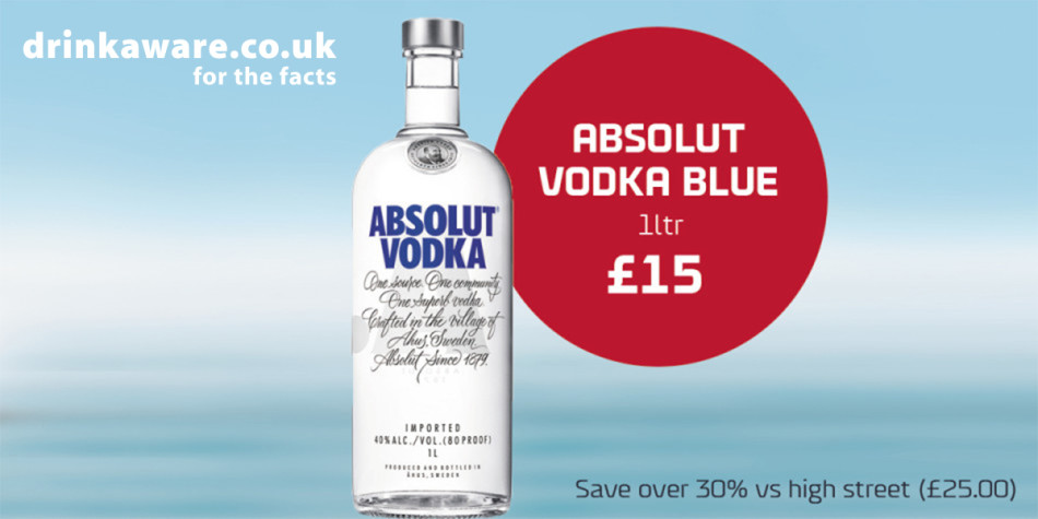 Q3 Shop offers Dover-Dunkirk and Calais Vodka