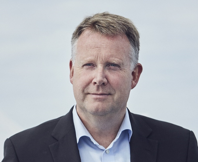 DFDS Henrik Holck Executive Vice President , People and Ships, portrait