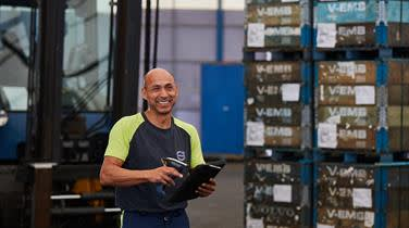 DFDS Logistics employee