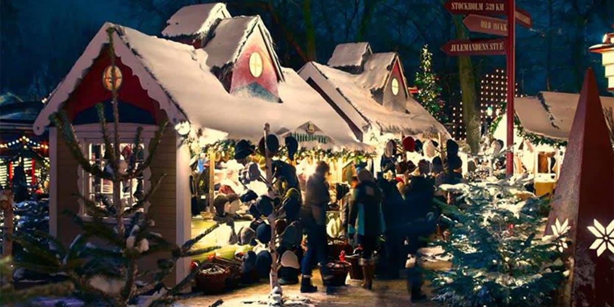 Copenhagen Christmas market - Tivoli