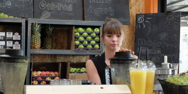 Trendy juice bar i København