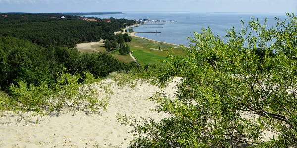 Dunes in Nida, Lithuania