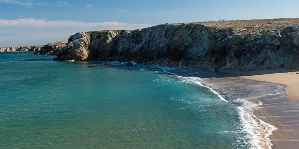 Great Brittany coastline