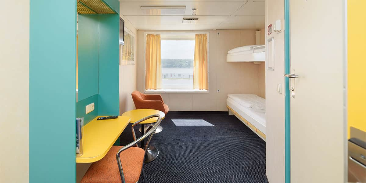 Seaview cabin on Patria Seaways
